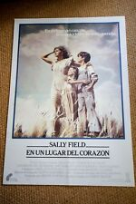 PLACES IN THE HEART Original Movie Poster SALLY FIELD ED HARRIS JOHN MALKOVICH
