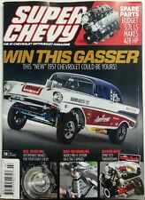 Super Chevy Jul 2017 Win This Gasser 1957 Chevrolet Spare Parts FREE SHIPPING sb