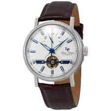 Lucien Piccard Open Heart 24 Automatic Silver Dial Men's Watch