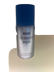 Boss Elements Aqua Deodorant Spray 150 ml Neu