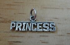 Sterling Silver 24x9mm says Princess Charm!