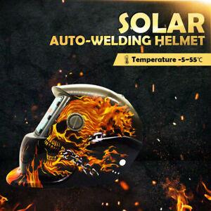 Solar Auto Darkening Welding Helmet Mask ARC/TIG Welder Machine