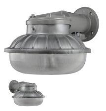 LEDDuskTillDawn Light Home Security Lights Pole Mount Outdoor Garage Barn Til