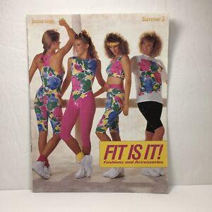 Vintage Jazzercise Catalog Summer 89 Jazzertogs Fitness Fashion Leotards Spandex