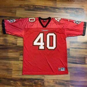 Mike Alstott Tampa Bay Buccaneers Nike NFL Football Jersey Mens Sz Large L