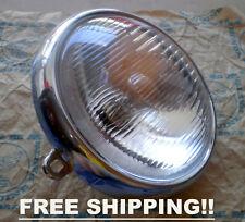 "Headlight 6"" Honda Trail 110 CT110 Trail 125 CT125 Head Lamp 6 V - FREE SHIPPING"