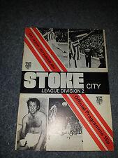 Stoke City v Sunderland, 1977-78