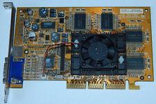 Grafikkarte NVidia Geforce 2 PRO AGP 64MB DDR SGRAM VGA Card MVGA-NV2GTSA PRO