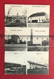 AK KOBERWITZ in Schlesien 1915 Rekruten Depot des Reserver Reg. 104   ( 83004