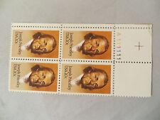 Scott #2038 Stamp, Joseph Priestley  Issue 20c, Plate Block of 4, MNH, OG
