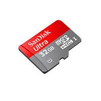 SanDisk TARJETA DE MEMORIA PARA DRONE DJI INSPIRE 1 ULTRA MICRO-SD CLASS 10 32GB