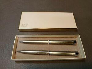 Vintage Garland Pen & Pencil Set Bubble Top -  Fore Way Express - Green Top