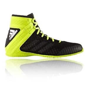 ADIDAS - Speedex 16.1 Boxing/Wrestling Boots Black/Yellow