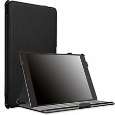 iPad Air 2 - 9.7 Inch Case Leather Cover Slim-Fit Folding Stand Apel Tablet Case