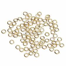 3mm gold tone oring jump ring