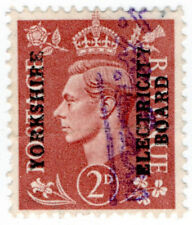 (I.B) George VI Commercial Overprint : Yorkshire Electricity Board