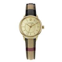 Burberry BU10201 26mm Honey Dial Stainless Steel Gold Tone Quartz Ladies Watch