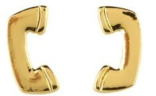 kate spade New NY Call Me Earrings telephone phone gold stud pierced designer
