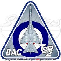 BAC TSR.2 RAF TSR-2 British Royal AirForce TSR2 UK Vinyl Sticker, Decal