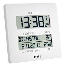 Funkuhr Wanduhr Uhr mit Temperatur großes Display Wochentage Time Line 60450902