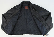 """Men's ROBERT COMSTOCK Black """"Waxed"""" Sport Jacket XLarge XL NWT NEW Awesome!"""
