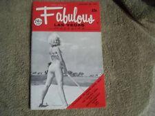 New listing Fabulous Las Vegas Magazine The Supremes Elvis Ad Leonard Bobby Darin 1/29/1972