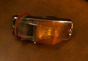 MGB Chrome Bumper complete front side/indicator light