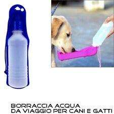 Beverino per cani Ciotola Bevitoio Dispenser Borraccia acqua viaggio cane gatti
