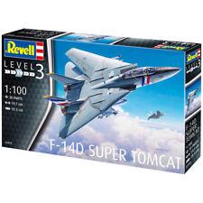 REVELL F-14D SUPER TOMCAT (SCALA 1:100) KIT MODELLO 03950 di prima classe affrancatura
