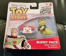 Disney Pixar Toy Story 3 Buddy Pack - chatter telephone and bookworm