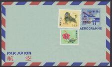 RYUKYU-JAPAN, 1958.  Air Letter UC3i, Mint