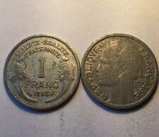 1 Franc Morlon alu 1946