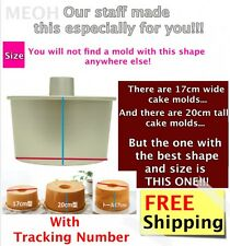 NEW Chiffon Cake Mold Pan from Japan Better Looking & Satisfying Tall & Wide