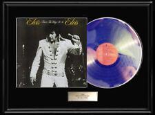 ELVIS PRESLEY THAT'S THE WAY IT IS  FRAMED LP  VINYL RECORD DISPLAY  RARE!