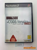 BIOHAZARD Code Veronica Complete Edition Sony Playstation2 PS2 JAPAN Ref: 313709