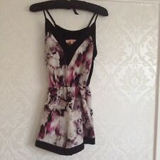 Black Pink Grey Play suit Size Small Shorts Dress