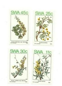 SPECIAL LOT South West Africa 1984 532-5 - Spring Flowers - 25 Sets of 4v - MNH