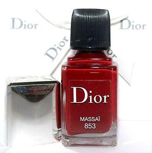 Christian DIor DIOR Vernis Nail Color  No. 853 Massai New