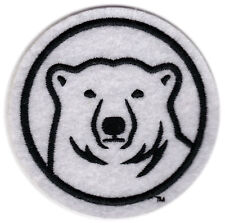 "BOWDOIN COLLEGE POLAR BEARS NCAA COLLEGE 3"" ROUND MASCOT LOGO TEAM PATCH"