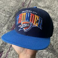 Mitchell & Ness Nba Oklahoma City Thunder Basketball Snapback Hat