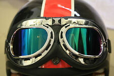 Vintage Riding Goggle for Royal Enfield; Motorcycle Riding Goggle; Colored glass