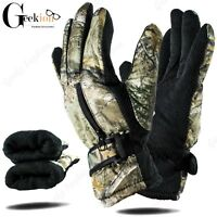New Men Winter Outdoor Sports Ski Thermal Insulation Windproof Gloves Mittens