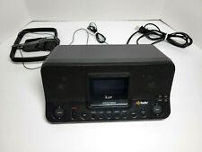 iLuv HD Radio Receiver Dual Alarm Stereo Speakers AM FM LCD Headphone Jack 1c