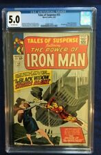 Tales Of Suspense #53 - CGC 5.0 - Off-White Pages  - Black Widow