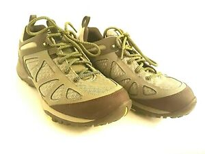 🔥 Women's MERRELL Dusty Olive Hiking Shoes Size 10 Gray Select Grip EUC