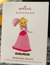 Hallmark Keepsake 2019 Nintendo Super Mario Princess Peach Ornament-NEW IN BOX