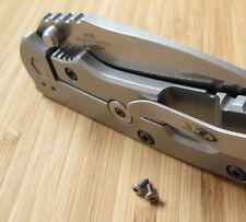 Zero Tolerance ZT0550 560 566 ZT Knife Pocket Clip Titanium Torx T6 Screws Set