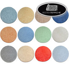 Thick & Soft & Cheap Round Rugs 14 Colours Feltback Bedroom Each Size