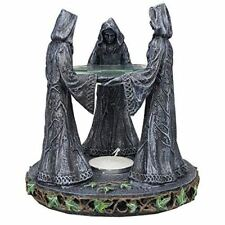 Wicca Pagan Triple Goddess Mother Maiden Crone Ceremonial Oil Diffuser Figurine