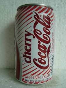 """Coca Cola """"CHERRY COKE """" 330ml Can from the NETHERLANDS -8-"""